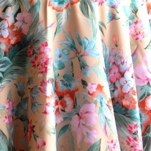 "Print ""Tahiti"" Tablecloth"