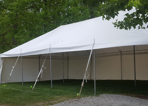One-Piece Canopy Tent - Wedding Venue Rentals