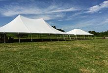 Large capacity tent rental