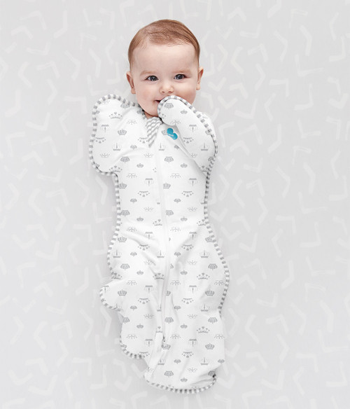 "LOVE TO DREAM SWADDLE UP™ Original 1.0 TOG Limited Edition ""Crown Print"""