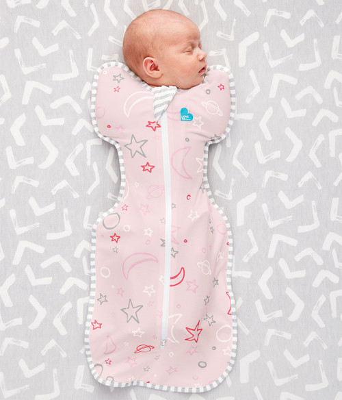 LOVE TO DREAM SWADDLE UP™ Bamboo 1.0 TOG Pink