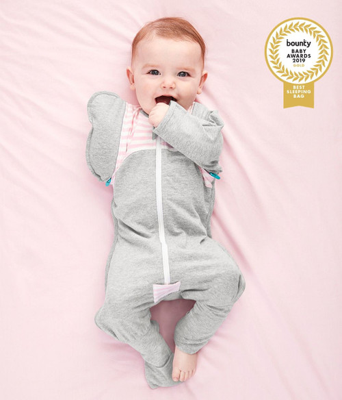 LOVE TO DREAM SWADDLE UP™ TRANSITION SUIT Original 1.0 TOG Pink
