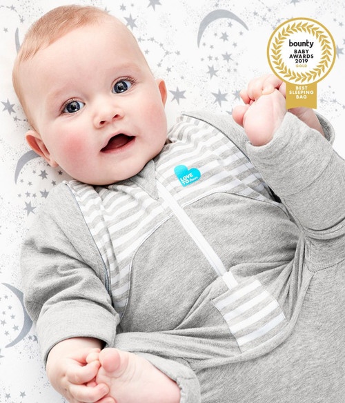 LOVE TO DREAM SWADDLE UP™ TRANSITION SUIT Original 1.0 TOG Grey