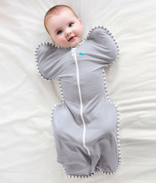 LOVE TO DREAM SWADDLE UP™ Lite 0.2 TOG Grey (2018)