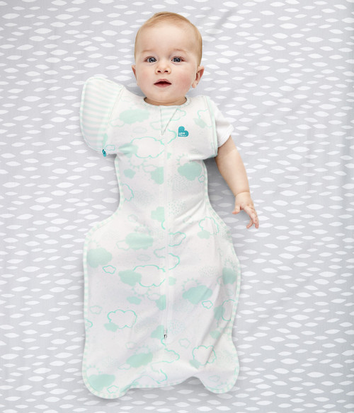 SWADDLE UP™ TRANSITION BAG Organic 1.0 TOG Mint