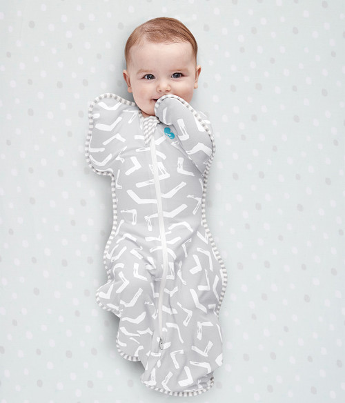 LOVE TO DREAM SWADDLE UP™ Bamboo Lite 0.2 TOG Grey