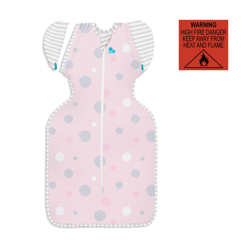 SWADDLE UP™ TRANSITION BAG Lite 0.2 TOG Pink