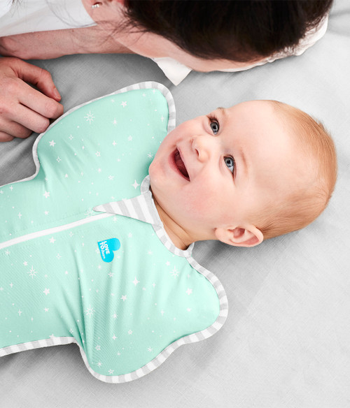 LOVE TO DREAM SWADDLE UP™ Lite 0.2 TOG Mint