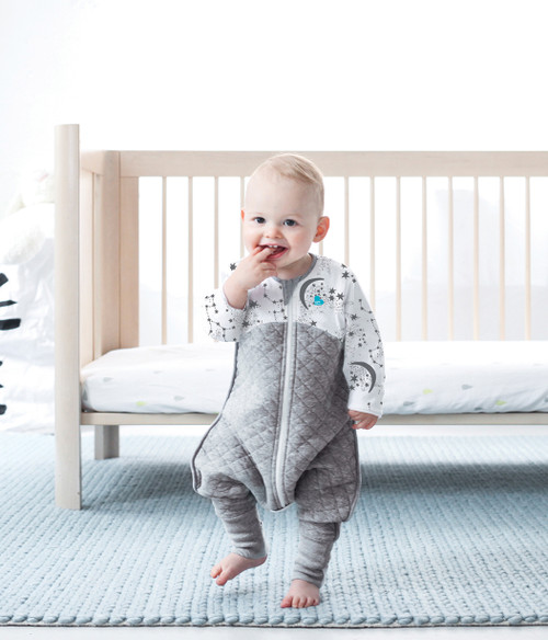 LOVE TO DREAM SLEEP SUIT™ 3.5 TOG Grey (2018 Design)