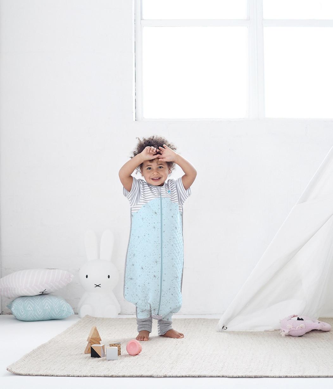 LOVE TO DREAM SLEEP SUIT™ 1.0 TOG Blue (2018 Design)