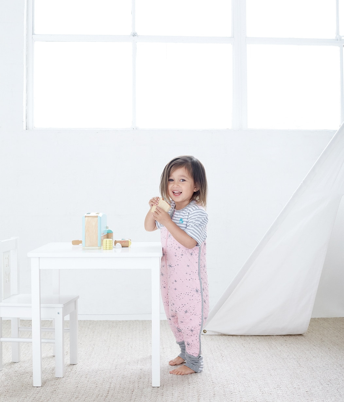 LOVE TO DREAM SLEEP SUIT™ 1.0 TOG Pink (2018 Design)