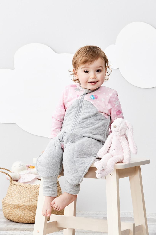 LOVE TO DREAM SLEEP SUIT™ 3.5 TOG Pink (2019 Design)