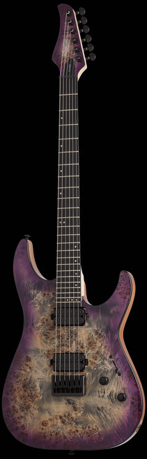 Schecter C-6 Pro Aurora Burst Electric Guitar