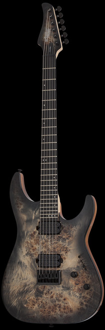 Schecter C-6 Pro Charcoal Burst Electric Guitar