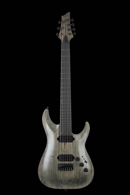 Schecter Apocalypse C-7 Electric Guitar Rusty Grey