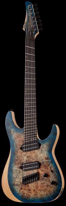 Schecter Reaper-7 Electric Guitar 7-String Satin Sky Burst