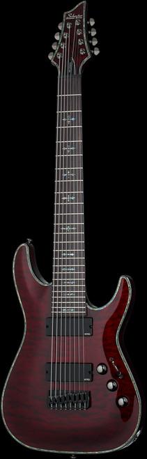 Schecter Hellraiser C-8  Electric Guitar 8-String Black Cherry