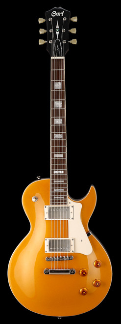 Cort CR-Series CR200 Electric Guitar Gold Top