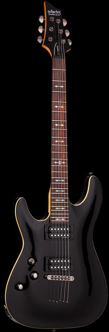 Schecter Omen 6 Left-Handed Electric Guitar Gloss Black