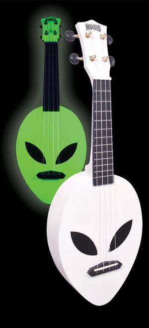 Mahalo Alien Soprano Ukulele Glow-in-the-Dark