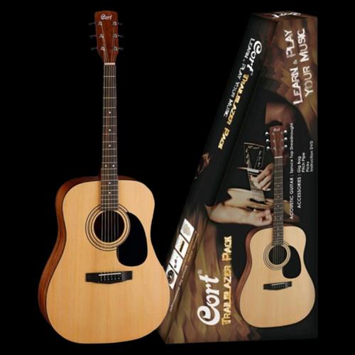 Cort AP810 Trailblazer Acoustic Guitar Pack