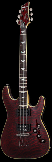 Schecter Omen Extreme-6 Electric Guitar Black Cherry