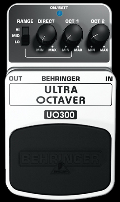 Behringer UO300 Ultra Octaver Guitar Effects Pedal Stompbox