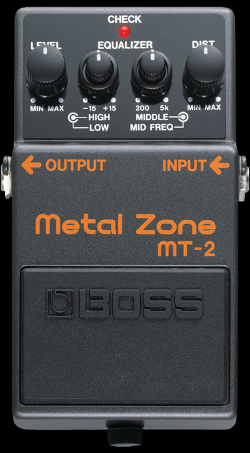 BOSS MT-2 Metal Zone Guitar Effects Pedal Stompbox