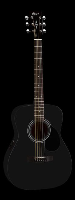 Cort AF510E BKS Electric/Acoustic Guitar