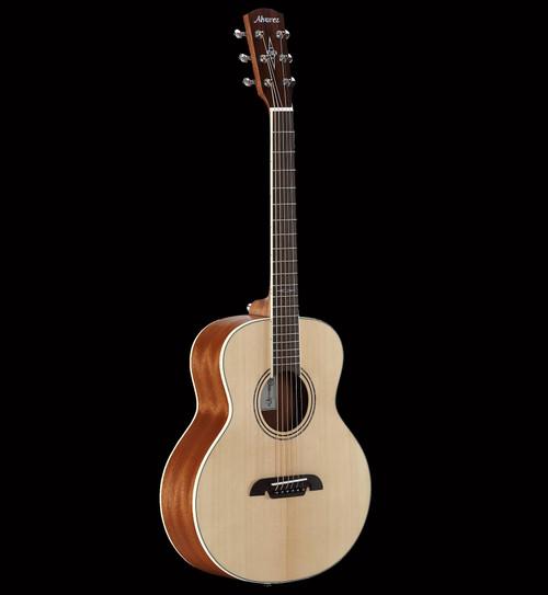 Alvarez Little Jumbo LJ2E Travel Electric/Acoustic Guitar