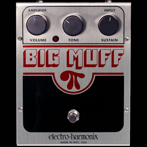 ELECTRO-HARMONIX Big Muff Pi Distortion/Overdrive Guitar Effects Pedal Stompbox