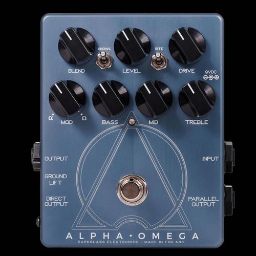 Darkglass Electronics Alpha · Omega Distortion/Overdrive Bass Effects Pedal Stompbox