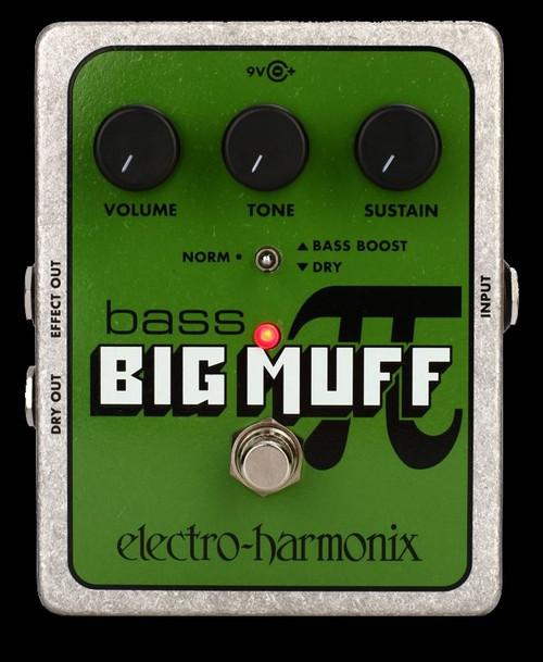 ELECTRO-HARMONIX Big Bass Muff Pi Bass Effects Pedal Stompbox