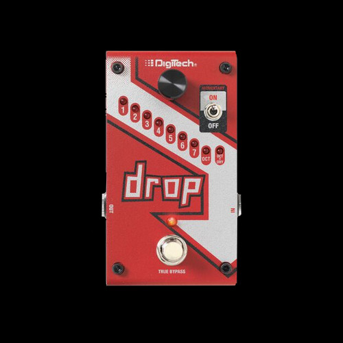 DIGITECH Polyphonic Drop Tune Guitar Effects Pedal Stompbox