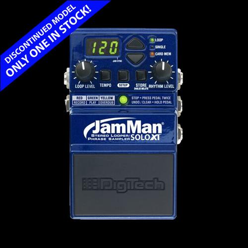 DIGITECH JamMan Solo XT Stereo Looper Guitar Effects Pedal Stompbox