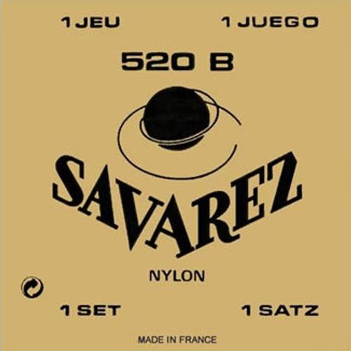    BUY ONLINE    Savarez Classical 520B Low Tension Nylon Guitar Strings
