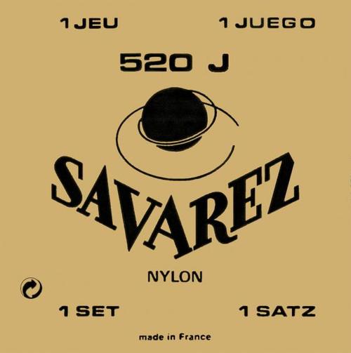    BUY ONLINE    Savarez Classical 520J High Tension Nylon Guitar Strings