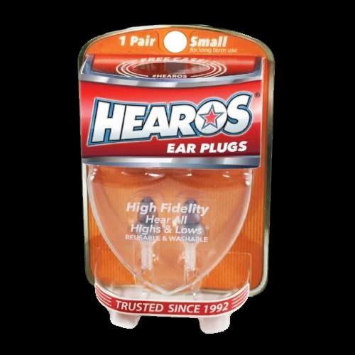 HEAROS Ear Plugs High Fidelity Small + FREE CASE