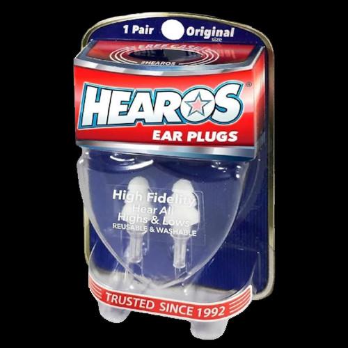HEAROS Ear Plugs High Fidelity Original + FREE CASE