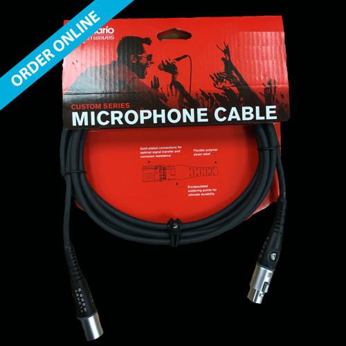 D'Addario (Planet Waves) Custom Series Microphone Cable 1.5m (5') XLR-XLR Lead