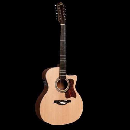 Gilman GA112CE 12 String Electric/Acoustic Guitar