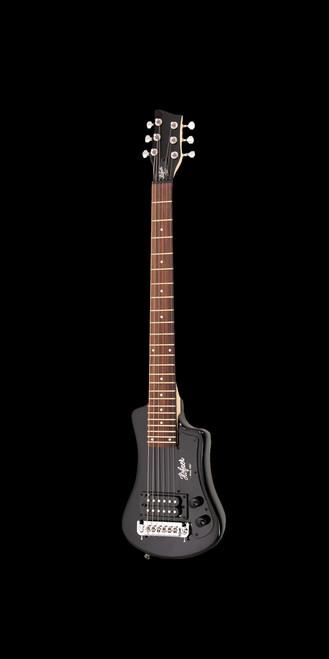 Hofner HCT-SH Shorty Electric Guitar Black