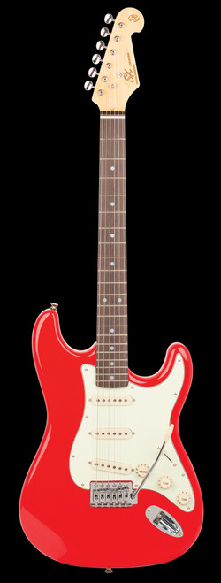 Essex SX Vintage Series Electric Guitar Fiery Red