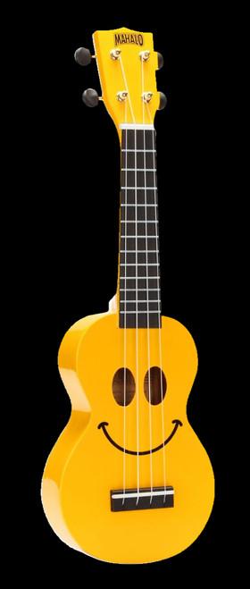 Mahalo U-Smile Soprano Ukulele Yellow
