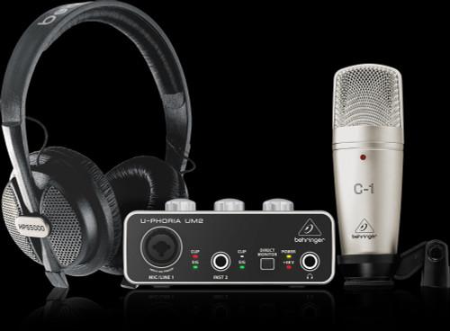 Behringer U-PHORIA Studio Complete Recording Package