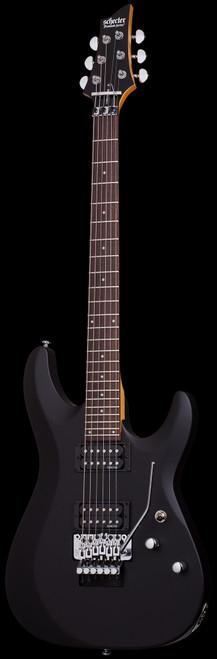 Schecter C6 FR Deluxe Electric Guitar Satin Black