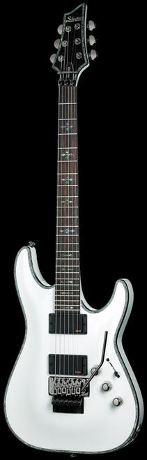 Schecter Hellraiser C-1 FR Electric Guitar Gloss White
