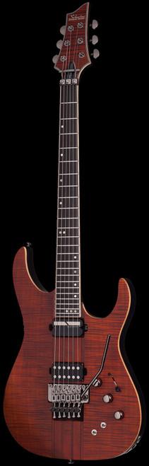 Schecter Banshee Elite FR Electric Guitar Cat's Eye Pearl