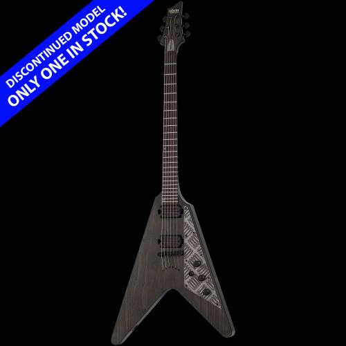 Schecter V-1 Apocalypse Flying V Electric Guitar Rusty Grey