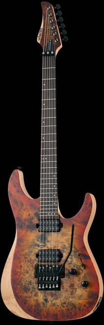 Schecter Reaper-6 FR Electric Guitar Satin Inferno Burst
